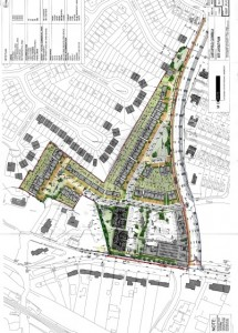 A planning app has been submitted for the site a the corner of the Clonsilla Rd and the Clonsilla Link Rd.